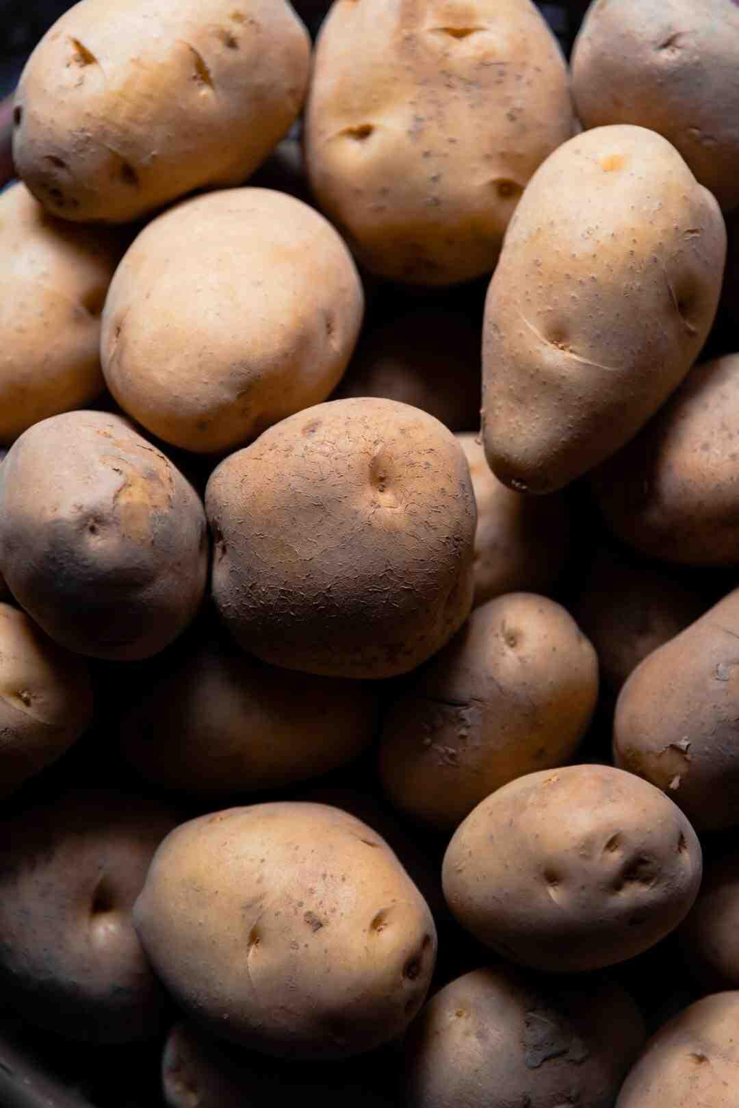 Pomme de terre variétés